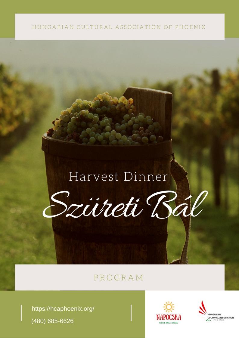 Grape Harvest DinnerPROGRAM