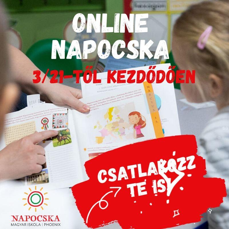Napocska Online Magyar Iskola(NOMI)
